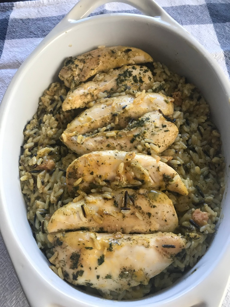 recipes with rachel chicken and rice casserole
