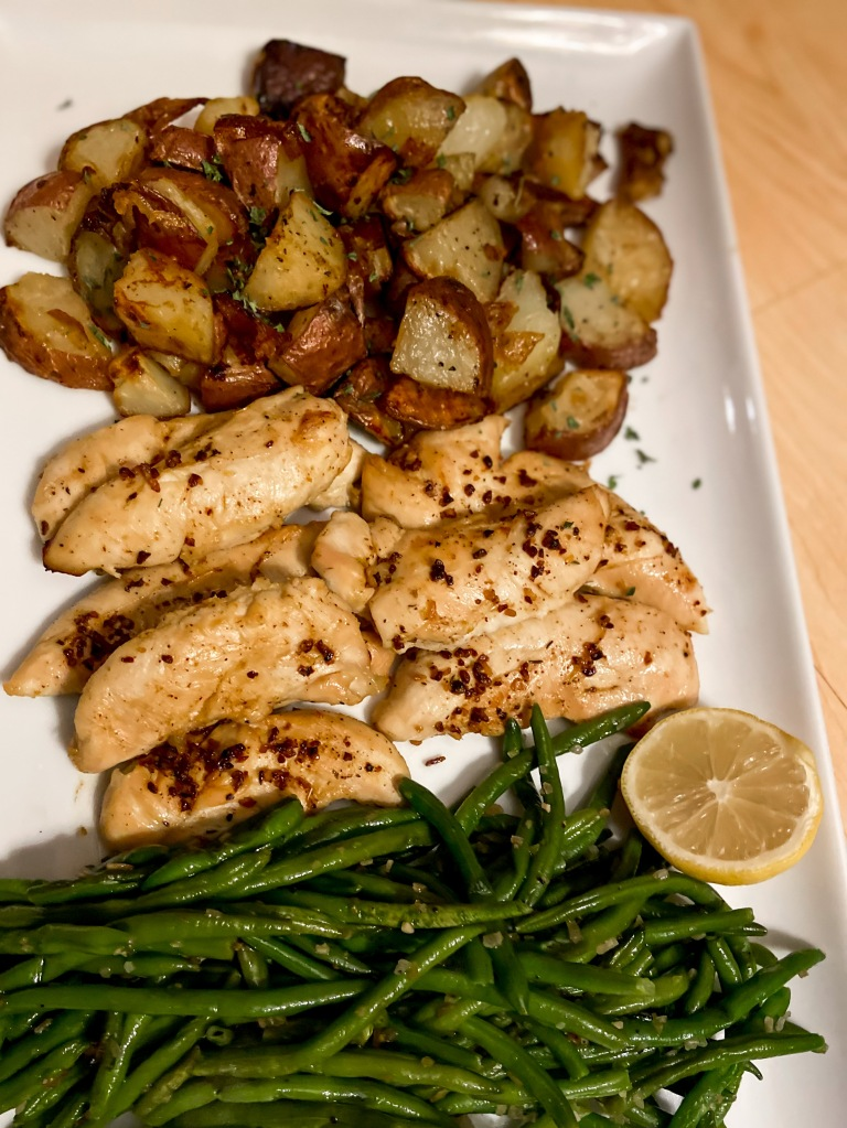 recipes with rachel garlic lemon chicken with potatoes