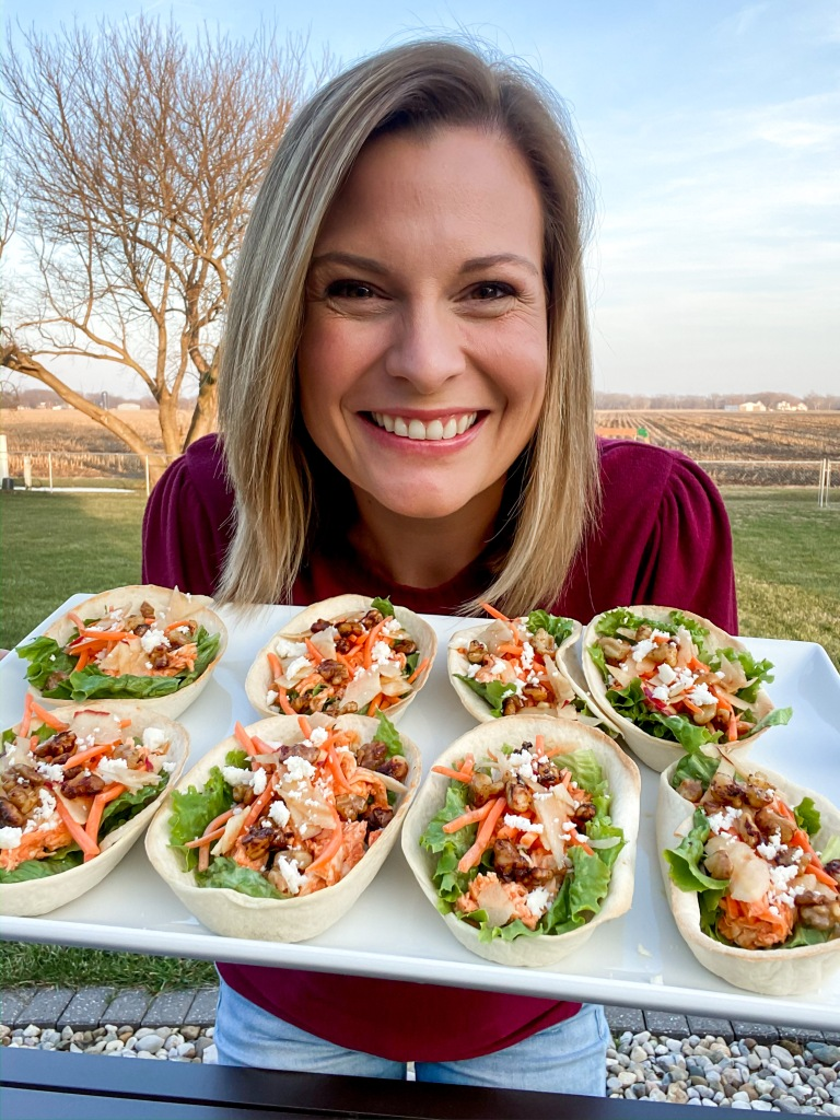 recipes with rachel buffalo chicken tacos