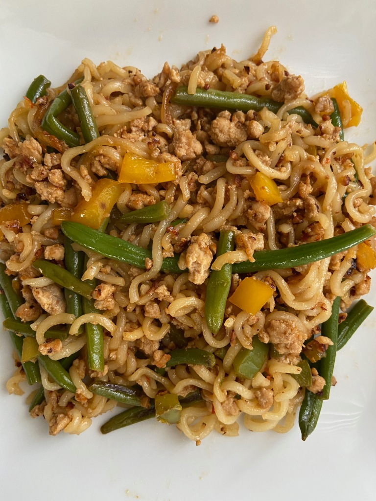recipes with rachel ground chicken and green beans