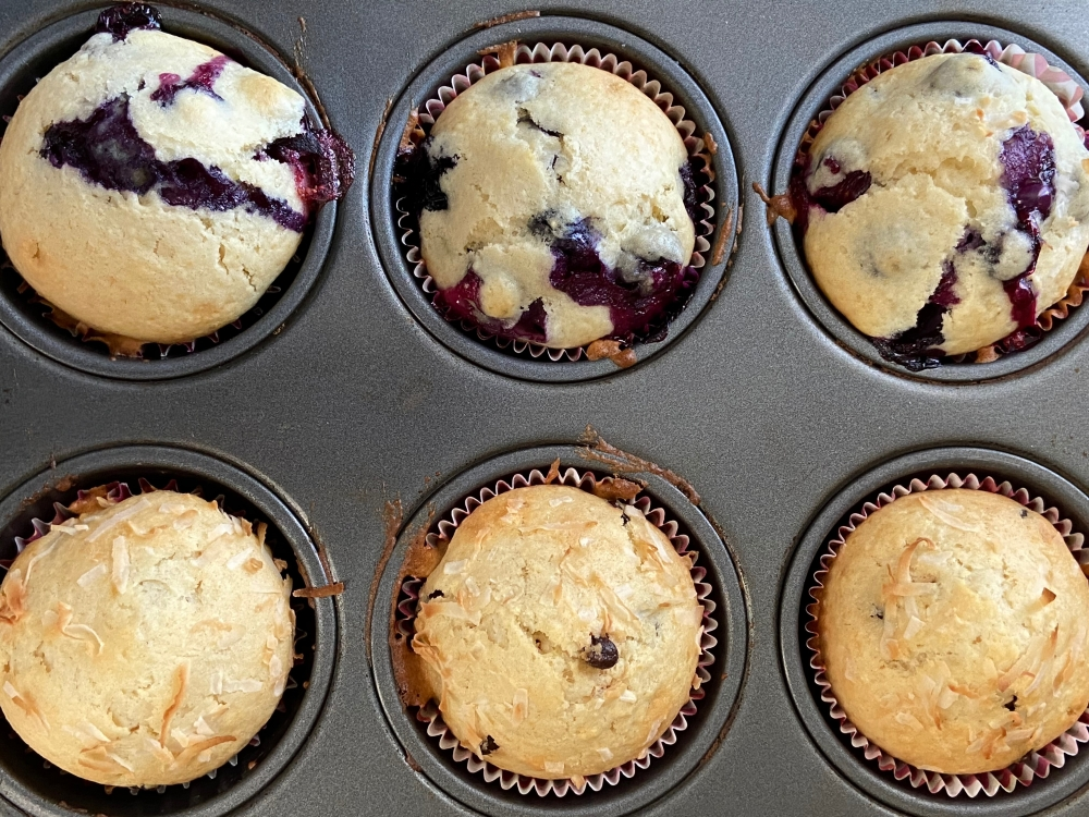 recipes with rachel homemade muffins