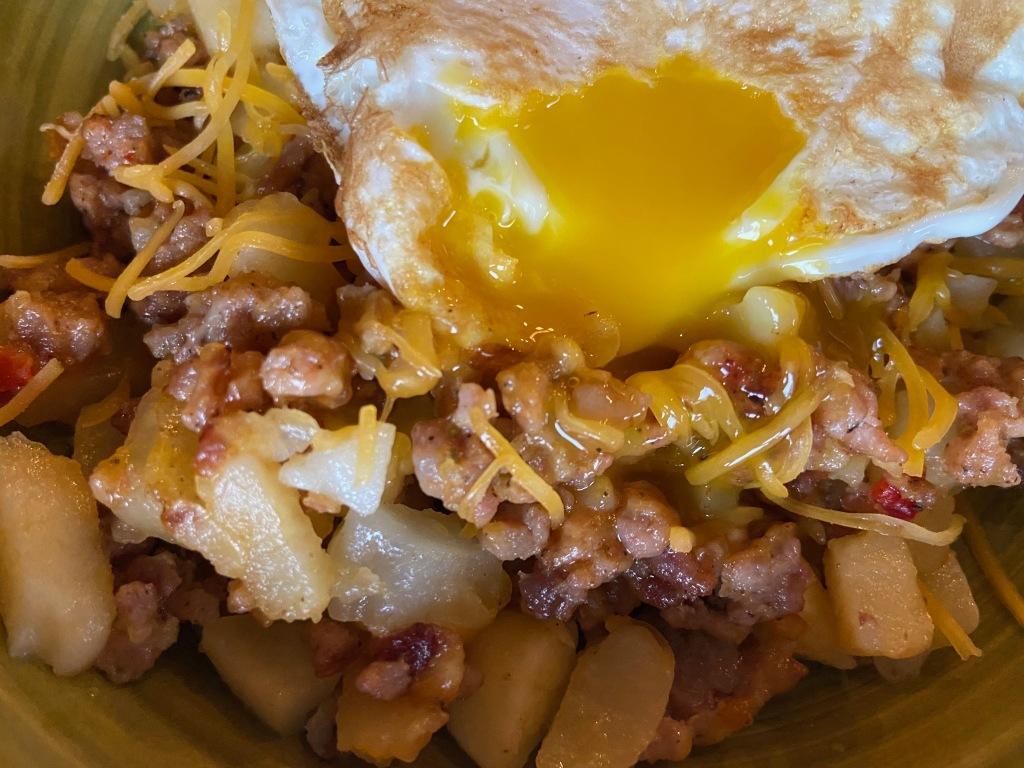 recipes with rachel breakfast skillet