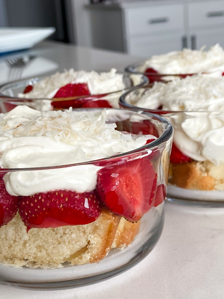 recipes with rachel strawberry and lemon trifles
