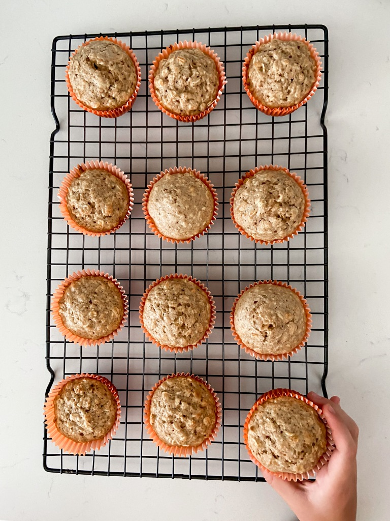 recipes with rachel brown sugar oat muffins