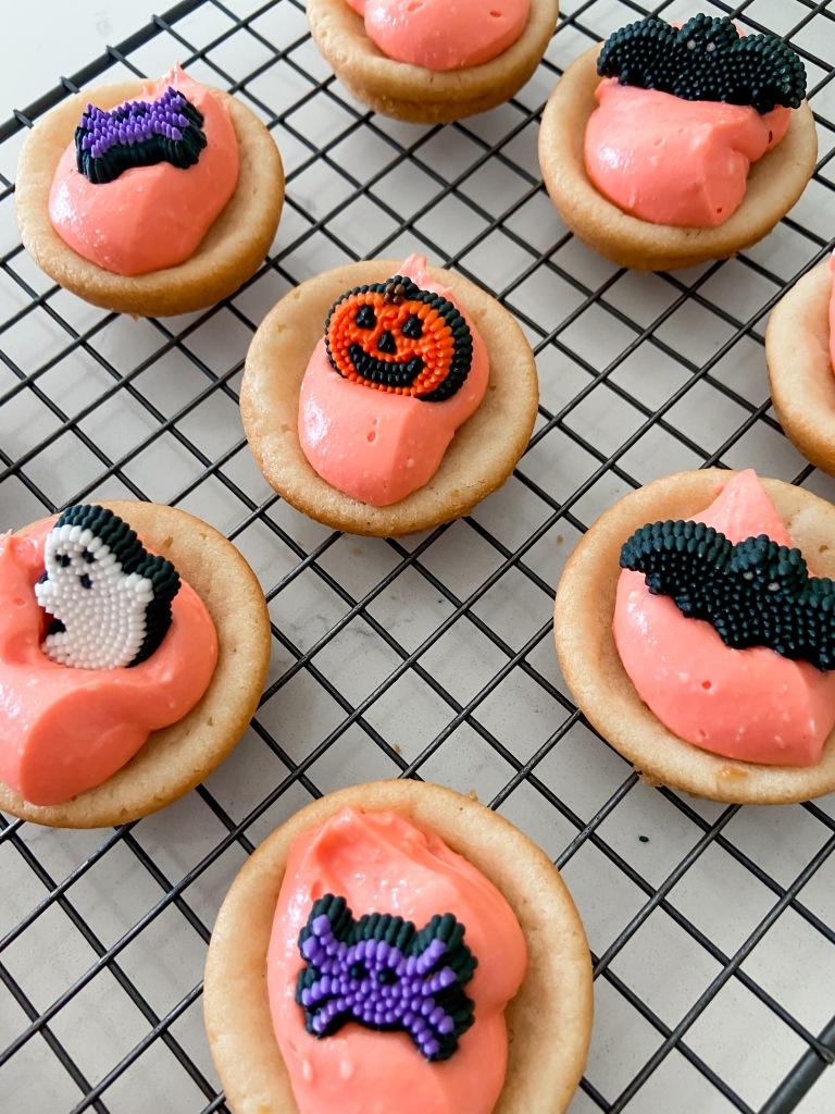 recipes with rachel halloween sugar cookie cups