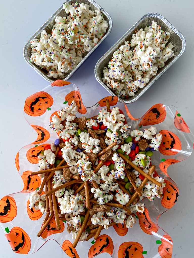recipes with rachel halloween popcorn mix