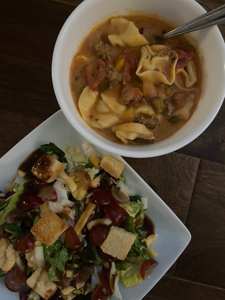 recipes with rachel ground sausage with tortellini soup