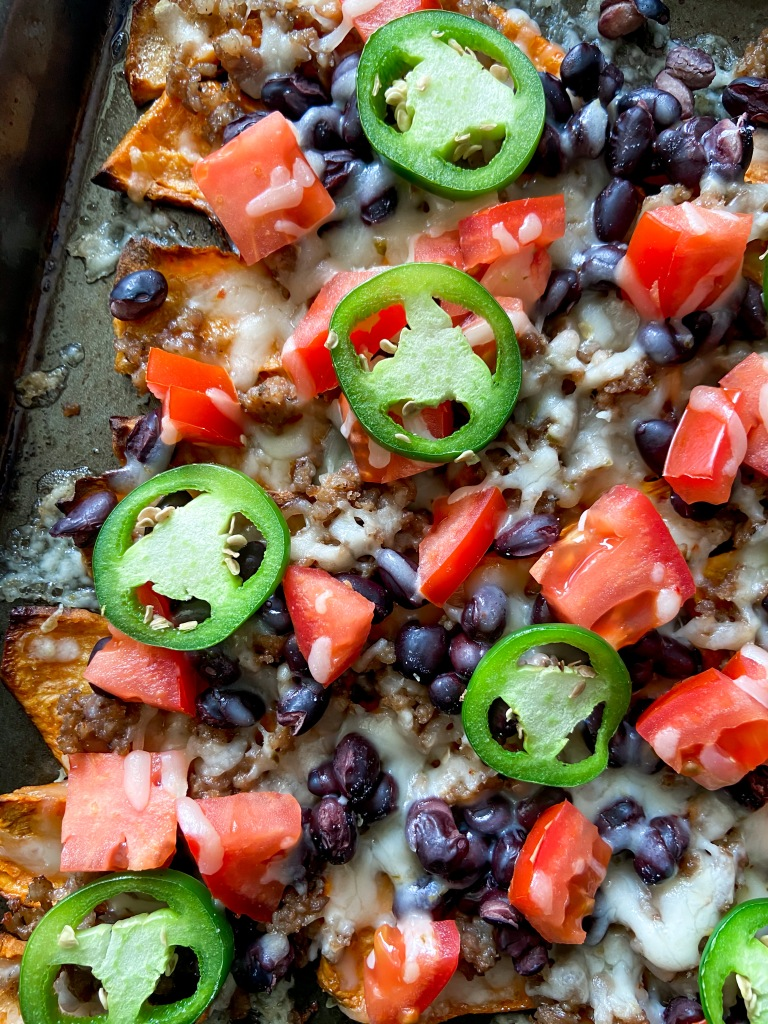 recipes with rachel sweet potato nachos