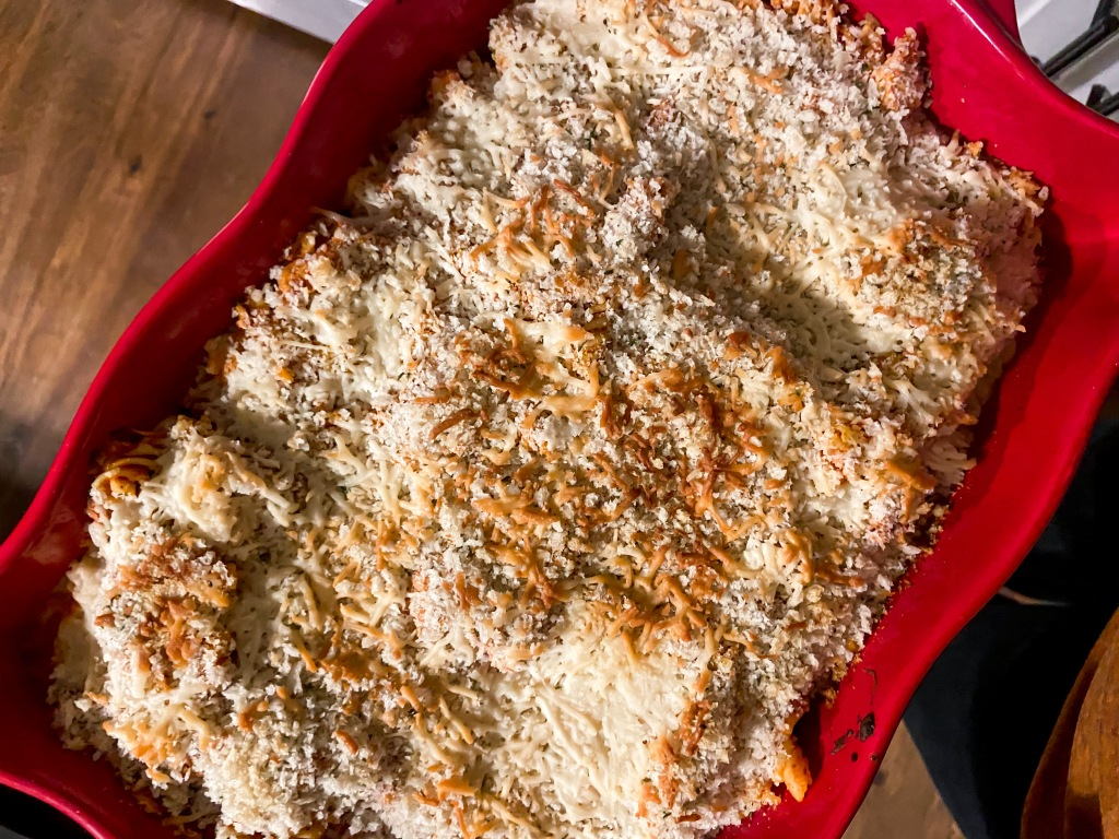 recipes with rachel chicken parmesan casserole