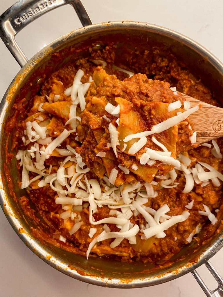 recipes with rachel skillet lasagna