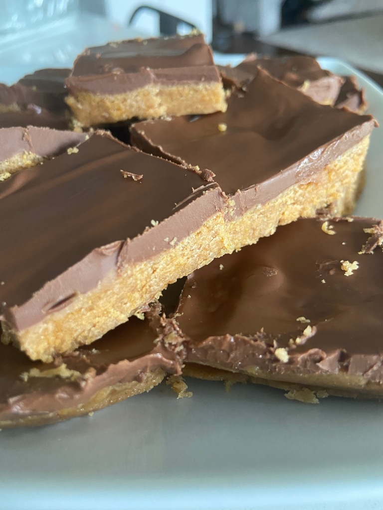 recipes with rachel chewy peanut butter chocolate bars