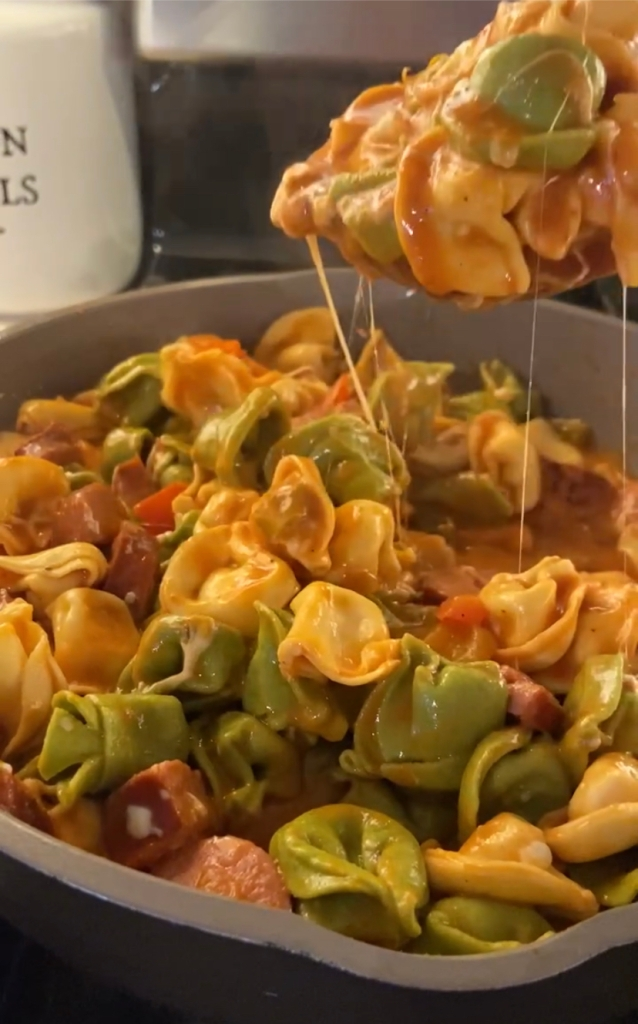 recipes with rachel sausage and tortellini
