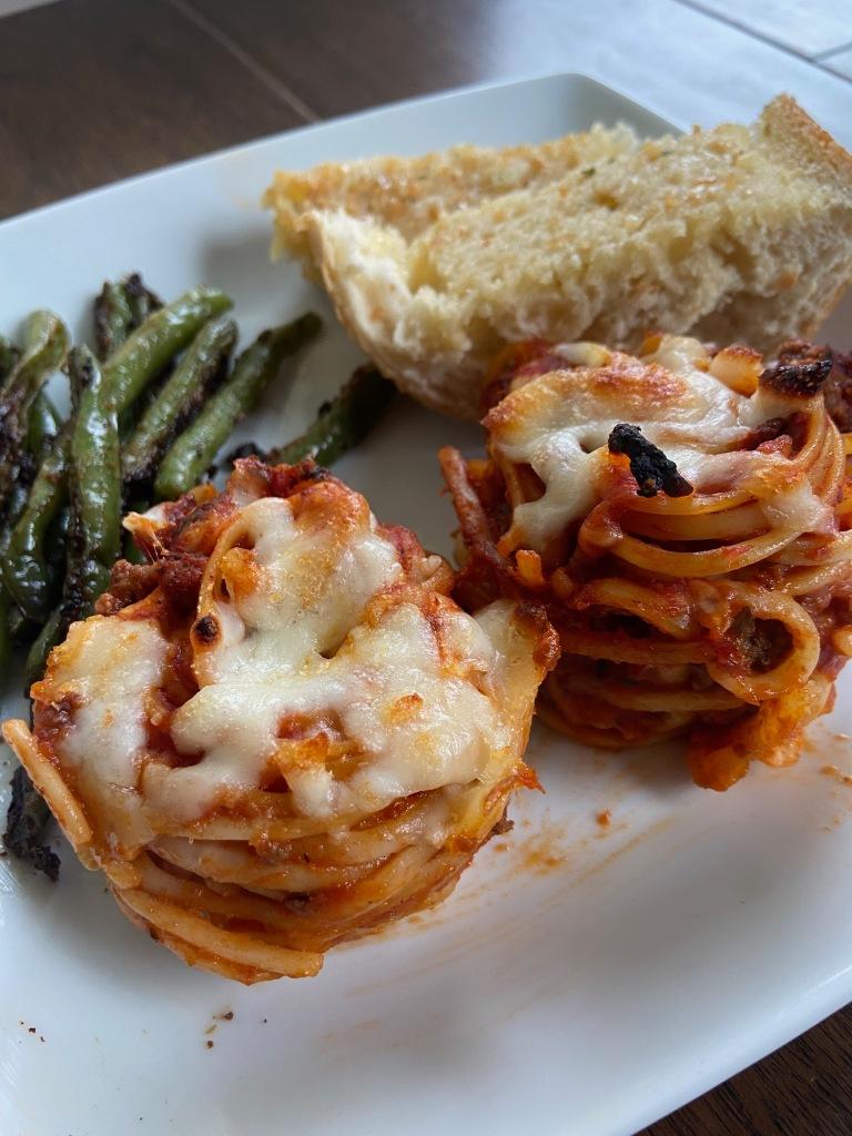 Recipes with rachel spaghetti cups