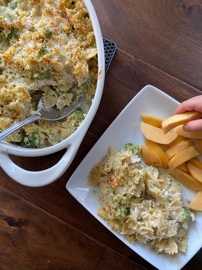 recipes with rachel chicken alfredo bake