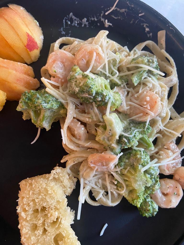 recipes with rachel lemon pepper shrimp and broccoli pasta